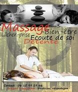Massage, relaxation, détente